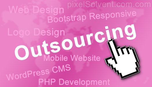 outsourcing web design india